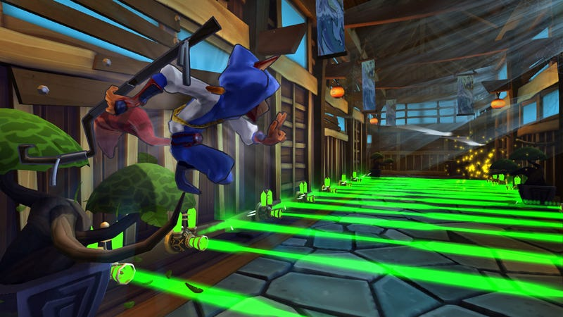 Just When You Thought Sly Cooper Couldn't Get Any Better — Playable Ninja Raccoon