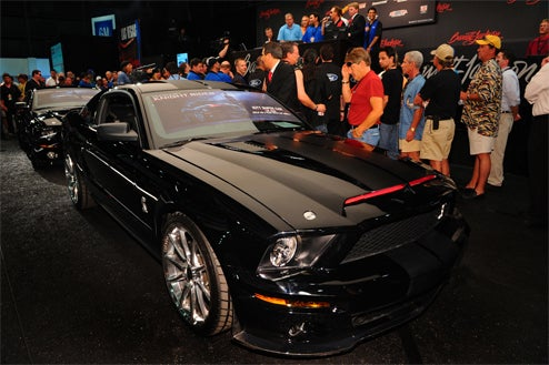 KITT Shelby Mustang GT500KR Pair Sells For $300,000