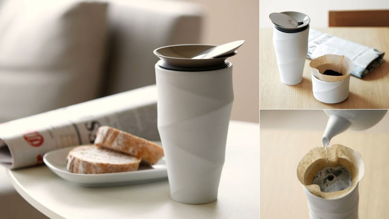 You Will Never Look Better Drinking Coffee Than With This Cup
