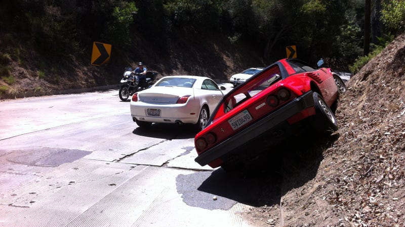 No, You Can't Offroad Your Ferrari