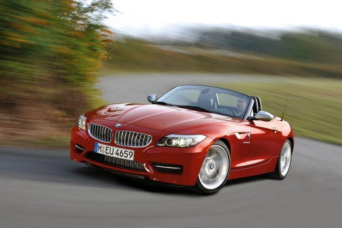 "BMW Z4 sDrive35is: More Power, More ""M"" Logos"