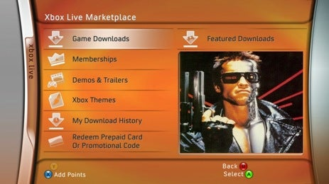 The Terminator and Grey's Anatomy Hit Xbox Live Marketplace With ABC and MGM Content Deals