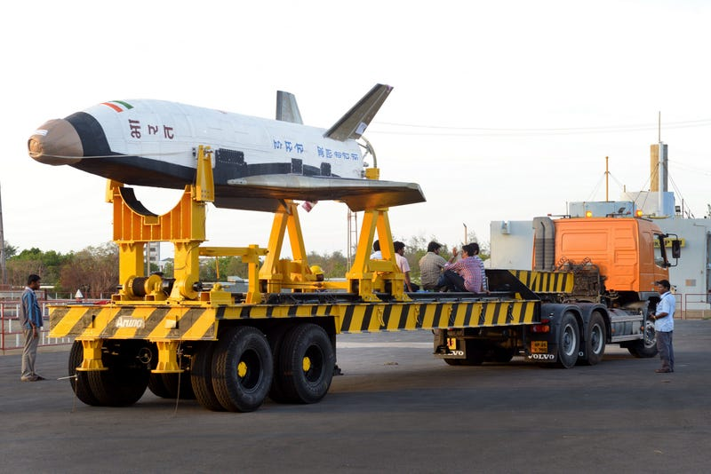 The Images From India's First Ever Space Shuttle Launch Are Astonishing