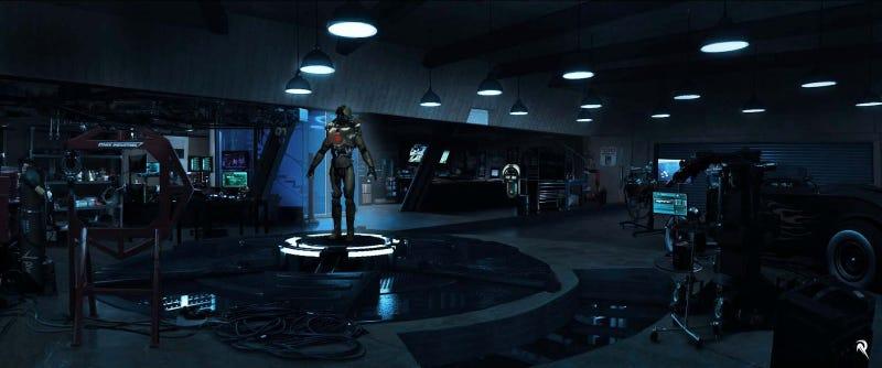Eye-Popping Iron Man 3 Concept Art From The Big Malibu Attack Scene