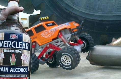 Mechanic Awakens To Find Drunk's Jeep Parked Over His Bed
