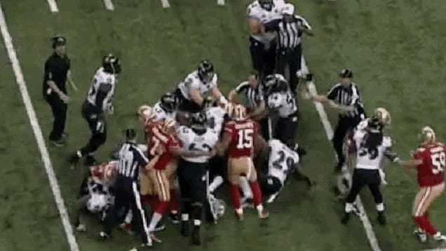 Cary Williams Shoved An Official And Got Away With It