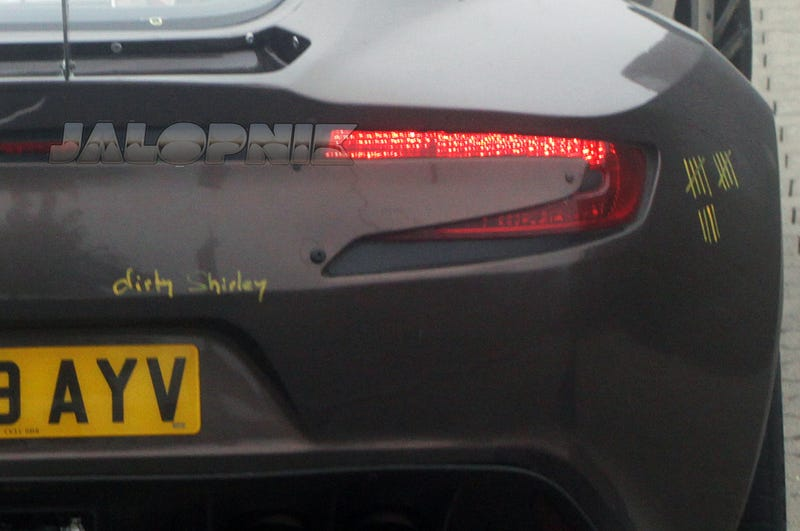 UPDATE: No Aston Martin Employees Fired For Scrawling Something On $1.7 Million Car