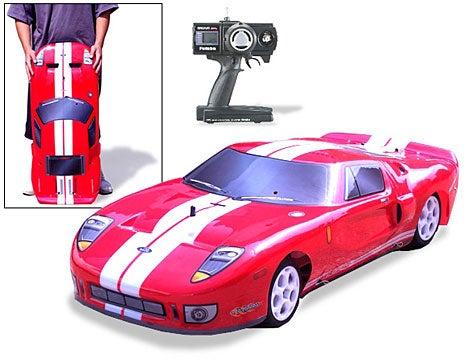 Ford GT Nitro Gas RC Car Goes 60MPH