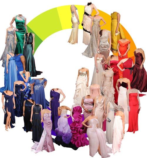 Rainbow Coalition: A Color Wheel Of Oscar Gowns