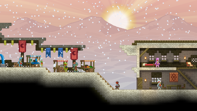 Starbound's First Official Trailer is Four+ Minutes of Pure Magic