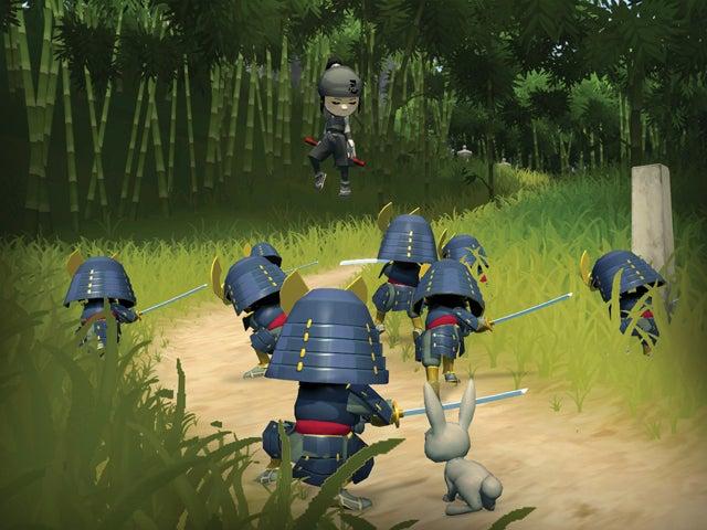 Mini Ninjas Make Happy Pandas