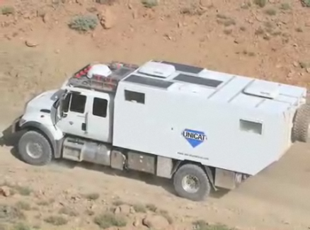 """UNICAT All-Terrain """"Land Yacht"""" Will Take You Anywhere, Do Anything"""