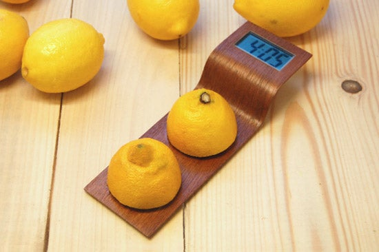 When Life Gives You Lemons, Make A Nicely Designed Digital Clock