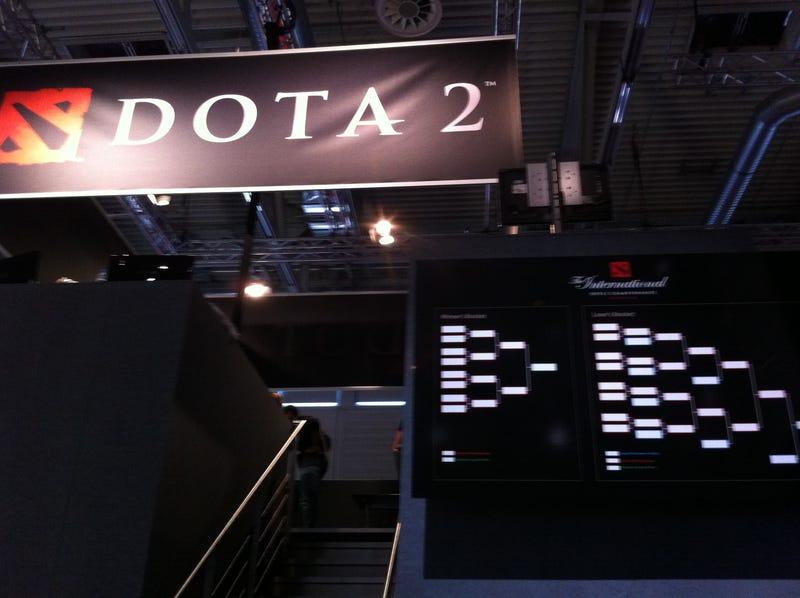A Tour of the DOTA 2 Showdown
