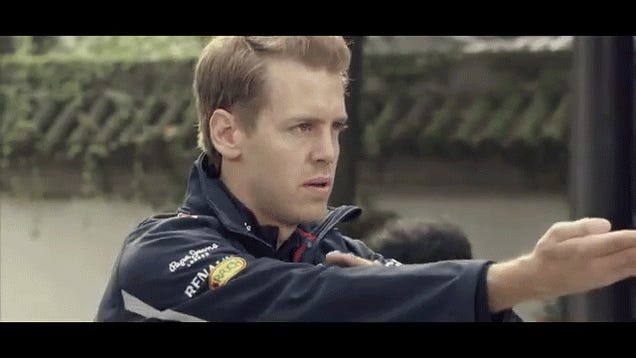 An Animated GIF Guide To Selecting Your Favorite F1 Driver