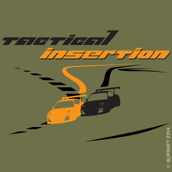 "New Blipshift Shirt - ""Tactical Insertion"""