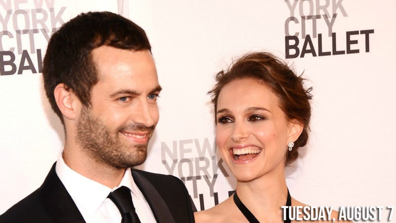 Natalie Portman's Cakeless Vegan Wedding Sounds Lovely