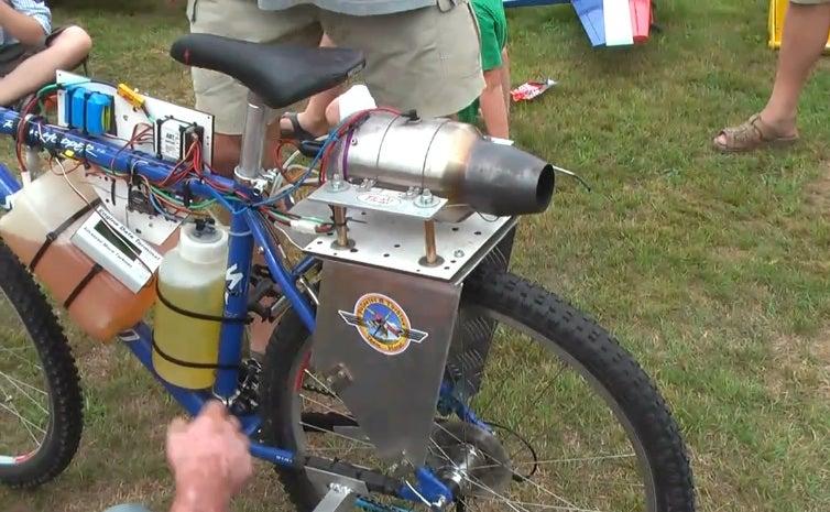 I Want This Jet-Powered Mountain Bike!