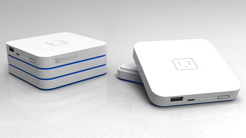 Stackable Battery Packs Provide as Much Power as You Can Carry