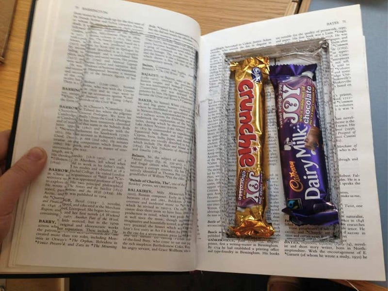 Cambridge Students Are Smuggling Candy in Hollowed-Out Library Books