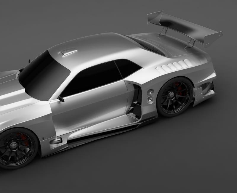 Vizualtech Renders Dodge Challenger GT