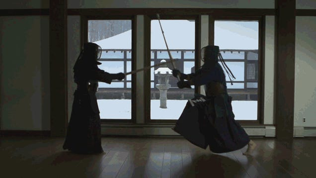 Witness the Beauty of Japanese Swordplay