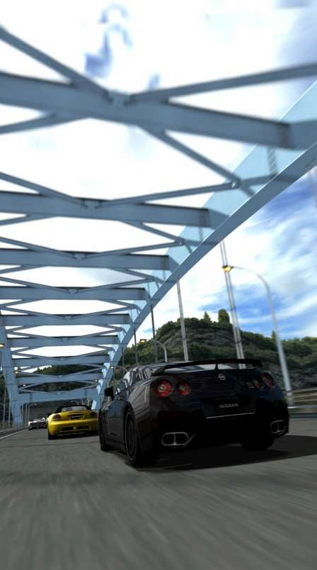 The Screens of Gran Turismo PSP