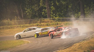 Formula D On A Karting Track - Tuerck Bash PARC 2014