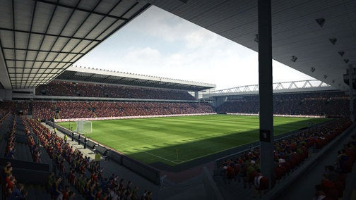 New Pro Evo 2010 Screens: Liverpool vs Barca
