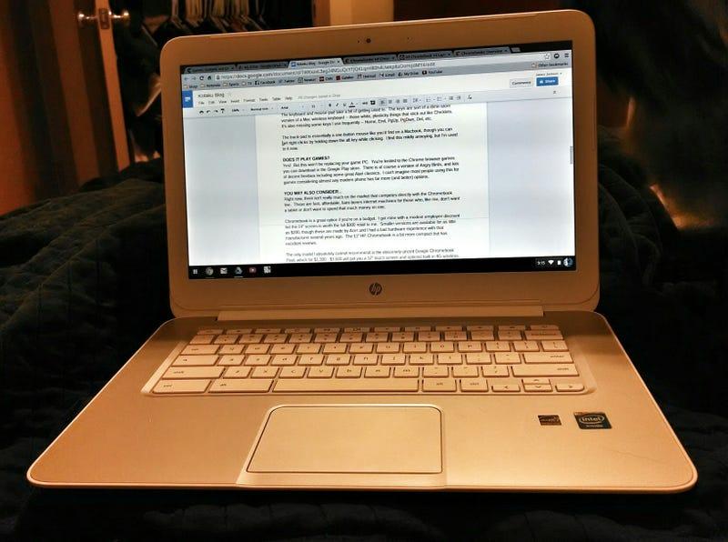 Games, Gadgets and Gifts: Hewlett-Packard Chromebook 14