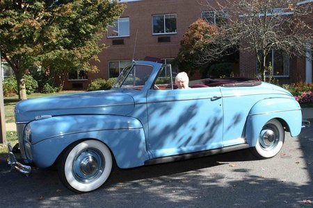 100-Year-Old's Birthday Gift: A Spin in Her '41 Ford