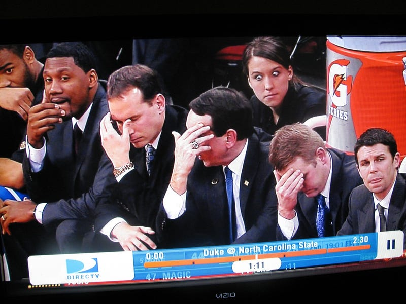 The Duke Bench Is Sad, Possibly Possessed