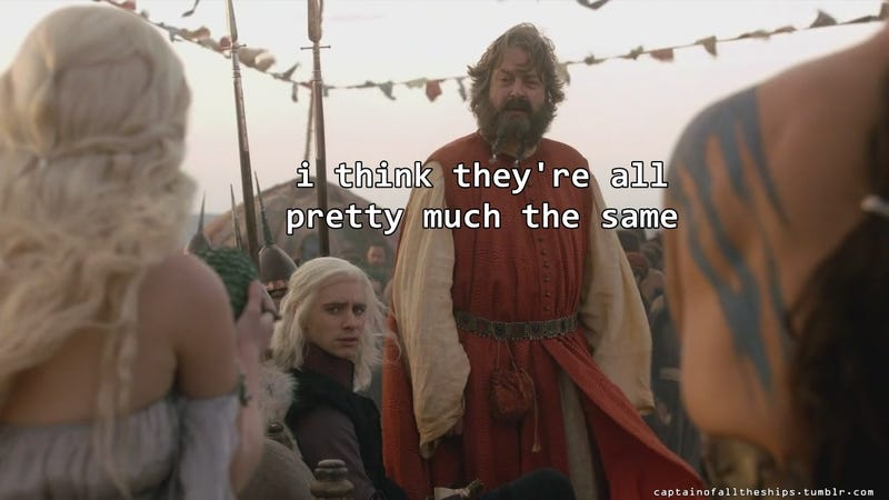 8/18/2014: The Real Struggle In Game of Thrones
