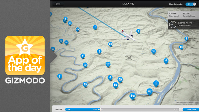 Fly Delta for iPad: Know Exactly What You're Flying Over
