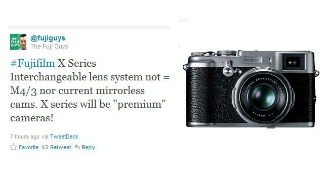 What Mysterious New Sensor Will Fuji's X-Series Cameras Use?