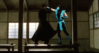 Sub Zero Seeks Revenge for The Matrix: Revolutions