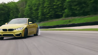 How To Properly Drift A BMW M4 Coupe