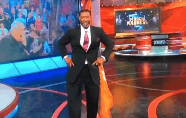 Mercer Alum Sam Mitchell Celebrates Win Over Duke With Irish Jig