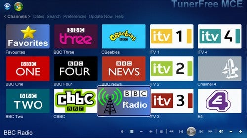 TunerFree MCE Beefs Up Your Windows Media Center Streaming Media Selection