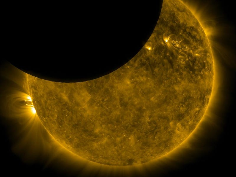 A Solar Eclipse Gets Its Close Up