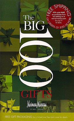 "Neiman Marcus ""Big 100 Gifts"": 100% Overpriced, 100% Stupid"