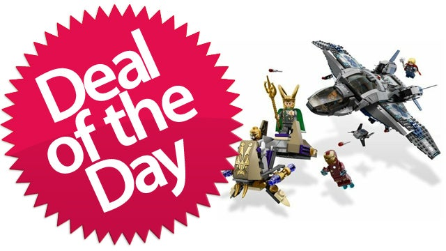 This LEGO Avengers Quinjet Is Your Homemade-Spoiler-Alert Deal of the Day