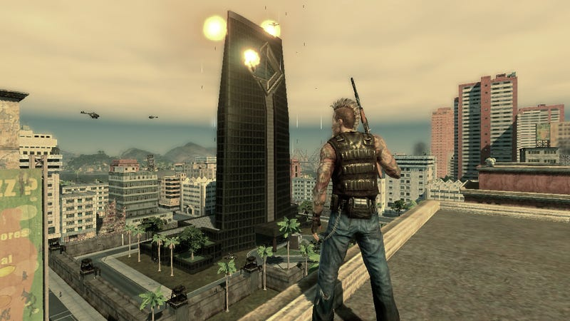 New Mercenaries 2 Screens