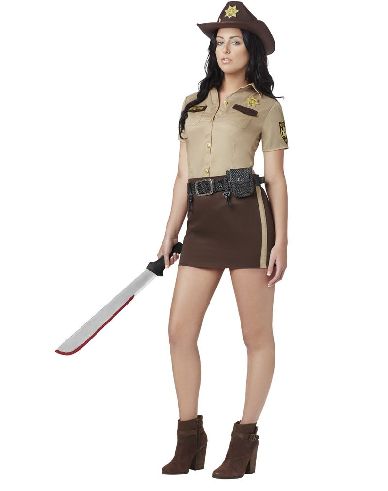 Sexy Rick Grimes from Walking Dead is an actual Halloween costume now