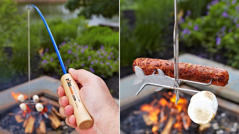 Reel In the Perfect Toasted Marshmallow Without Burning Your Limbs