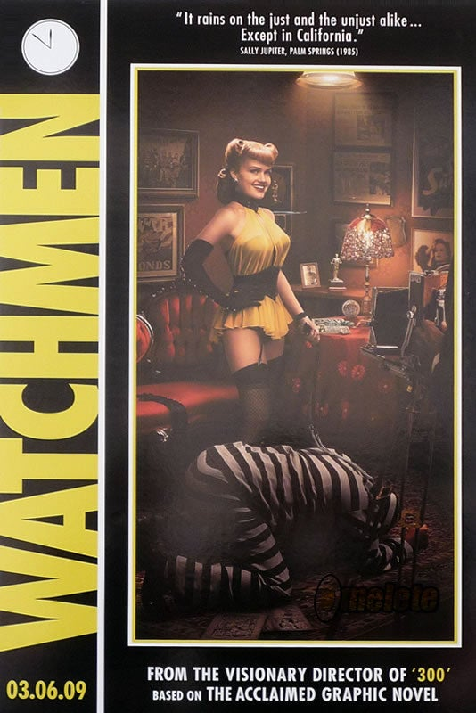 Six New Posters for Watchmen Recreate Comic Book Cover