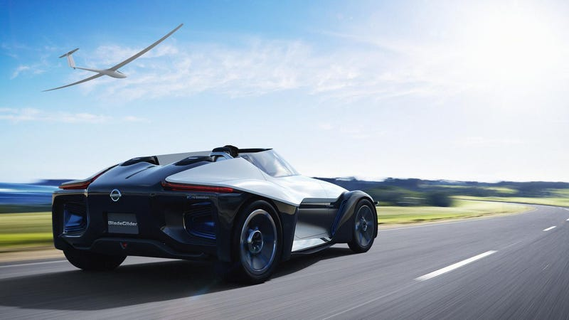Holy Cow! Nissan Might Put The BladeGlider Into Production
