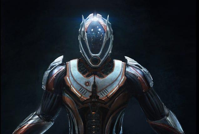 Este projeto Power Armor nos faz querer fazer um salto para a alegria Orbital