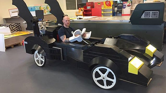 These Guys Turned the Lego Batmobile Into a Life-size Soapbox Racer