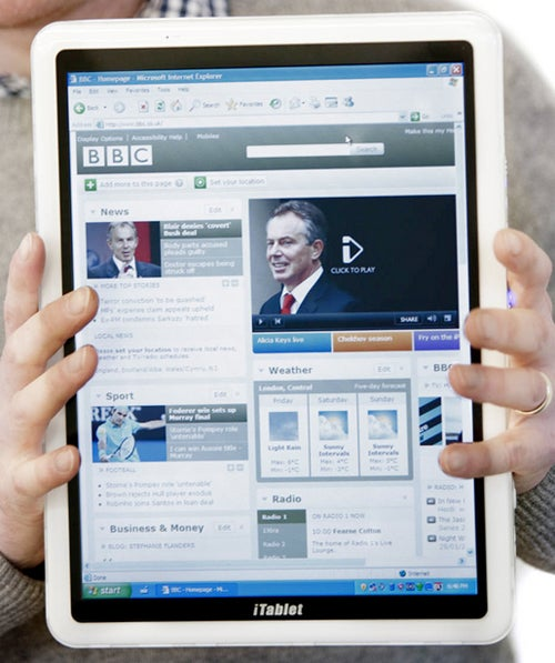 "Still Pining For An ""iTablet""? UK Company X2 Has Named Their Windows 7 Tablet Just That"